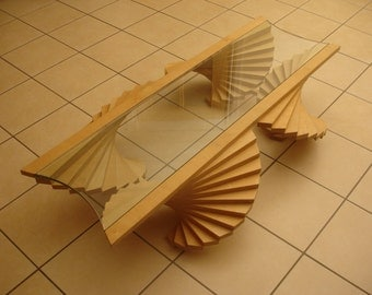 Beautifully handmade plywood Angel coffee table