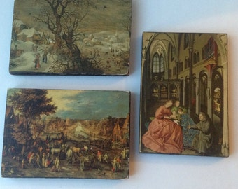 Wooden Art Plaques  Gourerts/ The Wanted  Witz- Holy Converse Jan Brue Tel: The Village
