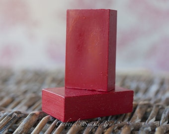 Beeswax Rouge Crayon for Waldorf Doll Making, Rouge Crayon for Cheeks