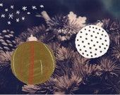 hand colored christmas photo, black and white photo of christmas baubles, christmas decoration, gold