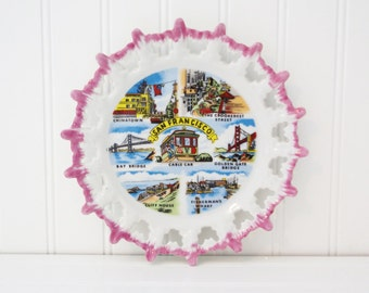 Vintage Souvenir Plate - San Francisco