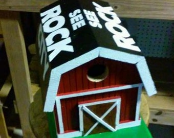 See Rock City Birdhouse