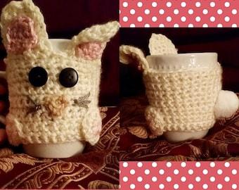 Bunny Mug Hug; Comes with mug!