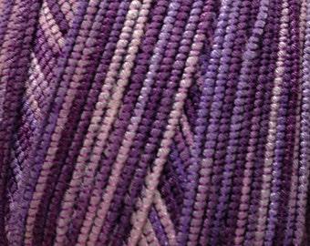 Lang Taris cotton blend DK weight yarn (146 shades of purple)