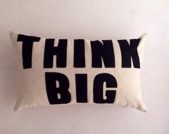 THINK BIG 30x50cm