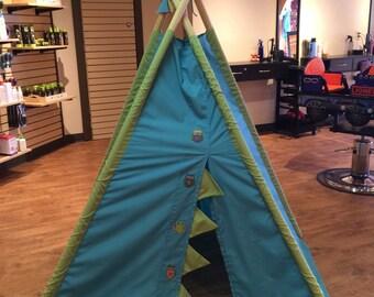 Kids Teepee - Toddler Teepee - Boy Teepee - Girl Teepee - Indoor Teepee - Custom Teepee - Kids Activities - Kids Playroom - Teepee - Fort