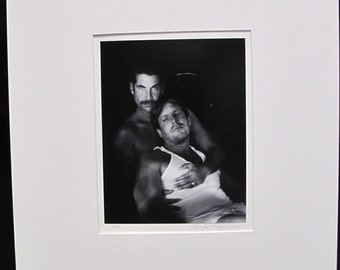 Beautiful Carole Topalian Matted Photograph Untitled 1995 - Gay Interest