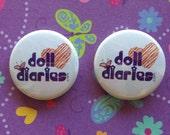 Doll Diaries Doll-Sized Pins - 2 pk.