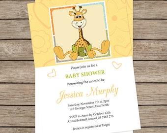 Baby shower invite - printable