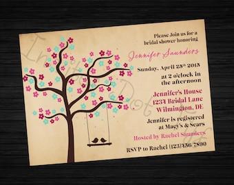 Love Birds Bridal Shower Invite (Printable)
