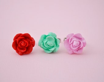 Beautiful Rose Flower Ring