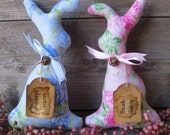 Spring Bunnies - Country Primitive - Easter Bunnies