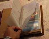 12 Cards Holder for Regular Size Traveler's Notebook