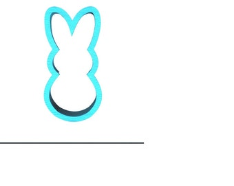 Marshmallow Bunny Cookie Cutter