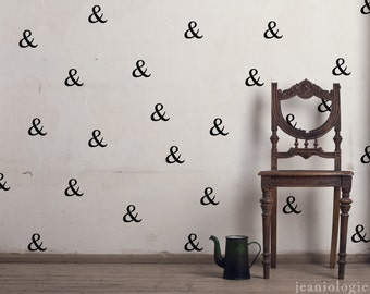 Ampersand - Vinyl Wall Art Decal