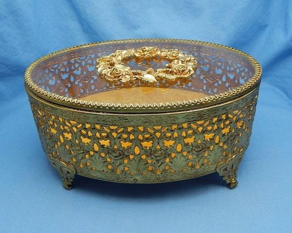 Gold Tone Jewelry Jewelry Box Gold Tone