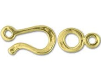 JBB Hook and Eye Clasp - 34.5mm - 5 Finishes - Pack 2 Sets