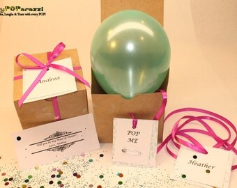Will you be my Ring Bearer?  Balloon Message Gift Box!