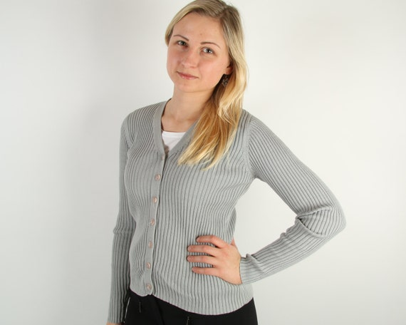 Online yarraville cardigan long gray women sweater wholesale distributors