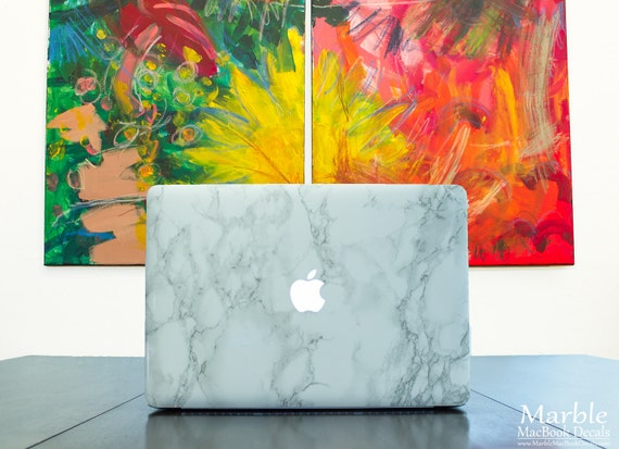 Marble Macbook Decals Glamorous Faux Marble By Marbledecals