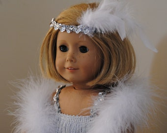 """Flapper Costume for American Girl and other 18"""" dolls"""