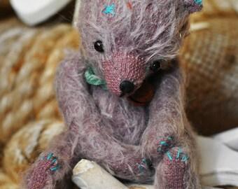 Mohair Teddy Bear - Artist Bear Willy - OOAK Teddy