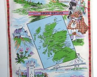 Souvenir Cotton Towel from Scotland