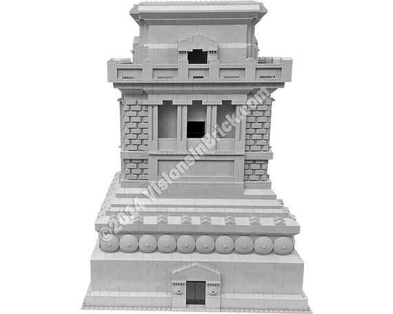 MOC Pedestal for LEGO Statue of Liberty 3450 - Special LEGO Themes ...