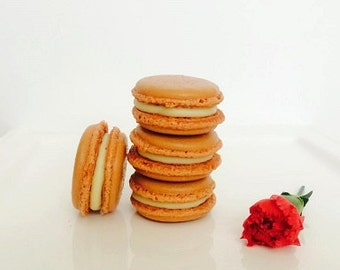 French macarons, 12 coffee macarons, birthday macarons, french confections, ottawa macarons, order macarons online, birthday gift