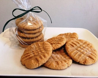 Old Fashioned Peanut Butter Cookies -Peanut Butter Cookies - Peanut Butter - 1 dozen