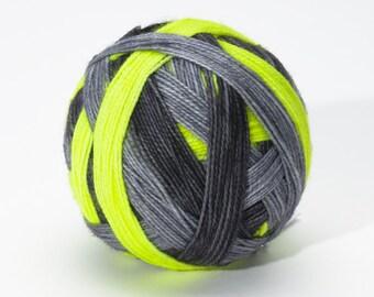 Lemon Sour - Self striping sock yarn