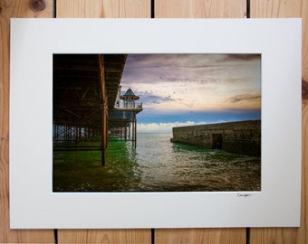 A4 mounted print of Brighton Pier