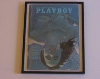 July 1970 Framed Playboy Magazine