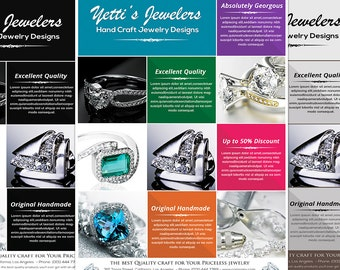 Jewelry Shops Promotion Flyer
