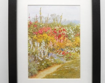 439 - Print with frame, Helen Allingham,  Landscape,  Birthday gift, For the home, Wall decor, Pictures, Pictures, Decor, Anniversary gift