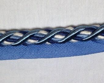 Navy Braided Rope Trim