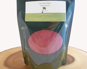 Beet Root Powder - Organic (Beta vulgaris)