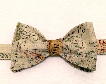 Map Bow Tie