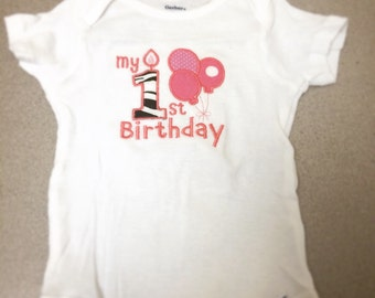 Customized Birthday Onesie