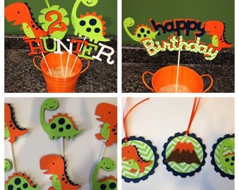Dinosaur Birthday Package