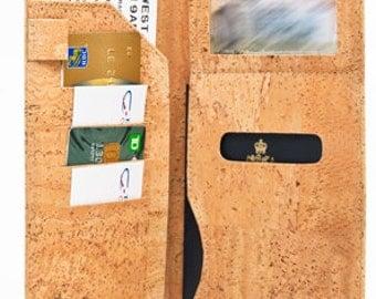 Cork Wallet Travel Passport