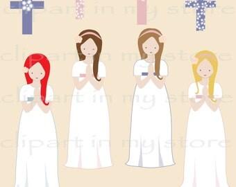 kit digital niñas primera comunion