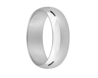 5mm wide palladium wedding ring, made to order. Mans wedding ring, plain palladium wedding ring, UK made wedding ring