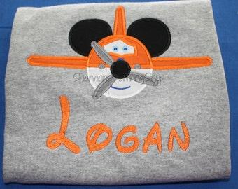 Mouse Ears Plane Shirt
