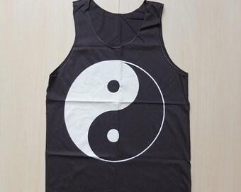 Ying Yang Pop Rock T-Shirt Vest Tank Top
