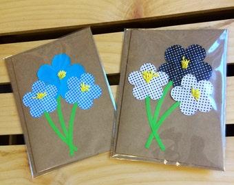 Paper Flower Bouquet Cards
