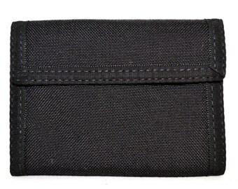 Bi Fold Velcro Wallet with Change Pocket