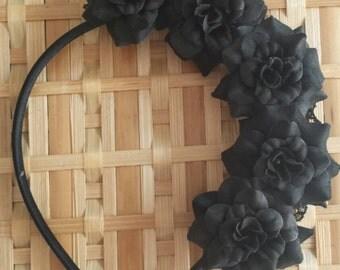 Black posey hairband