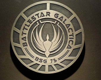 Battlestar Galactica Logo sign Prop