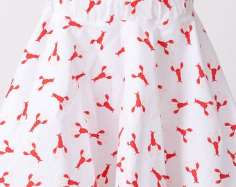 Lobster Girls Twirl Skirt